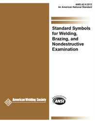 AWS A2.4-12 Standard Symbols for Welding, Brazing and Nondestructive Examination