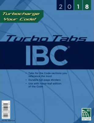 2018 International Building Code Turbo Tabs SC