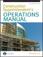 Construction Superintendent's Operations Manual, Second Edition