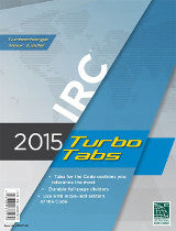 2015 International Residential Code (IRC) Turbo Tabs, Softcover