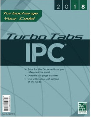2018 International Plumbing Code Turbo Tabs LL