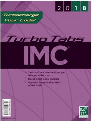 2018 International Mechanical Code Turbo Tabs LL