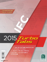 2015 International Fire Code (IFC) Turbo Tabs, Loose Leaf