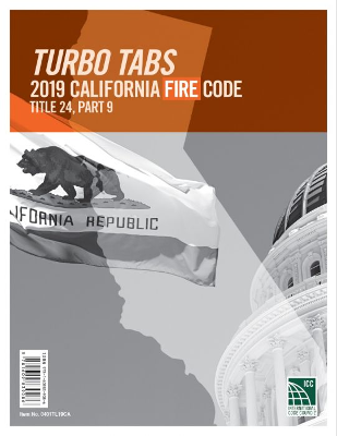2019 Title 24 Part 9 - CA Fire Code LL Tabs