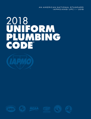 2018 Uniform Plumbing Code LL