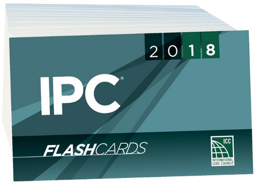 2018 International Plumbing Code Flash Cards