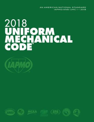 2018 Uniform Mechanical Code SC