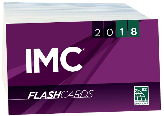 2018 International Mechanical Code Flash Cards