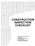 Construction Inspection Checklist