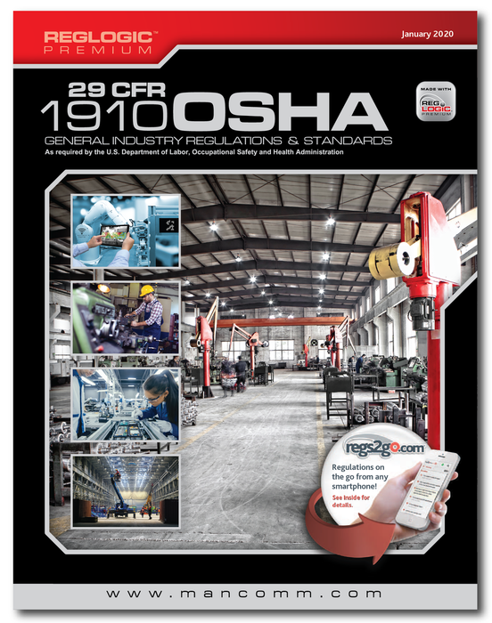 29 CFR 1910 OSHA General Industry Regulations January 2020 Edition