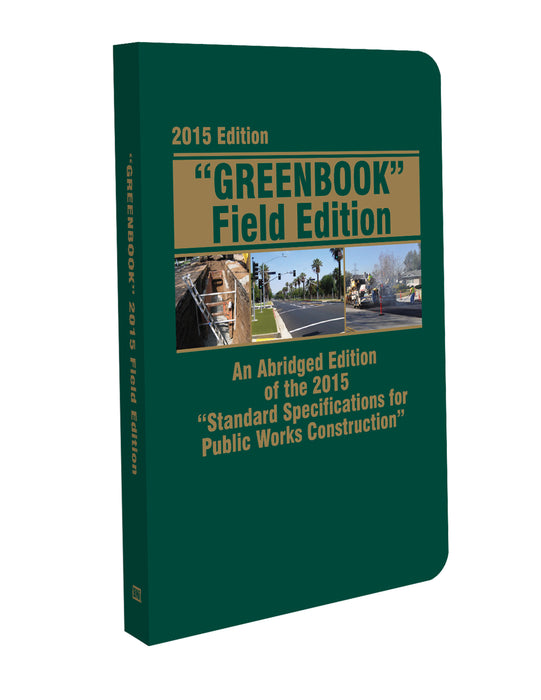 """Greenbook""  Field Edition 2015"