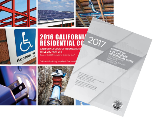 2017 County of LA Residential Code Complete