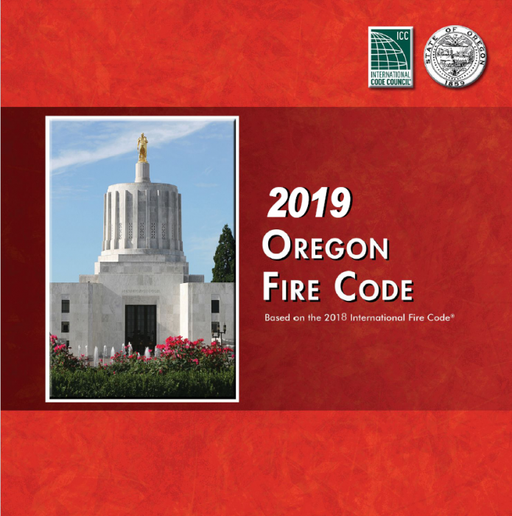 2019 Oregon Fire Code