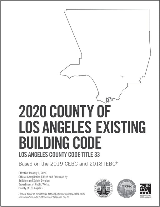 2020 County of Los Angeles Existing Building Code - Amendments only