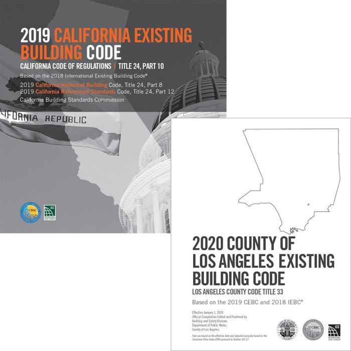 2020 County of Los Angeles Existing Building Code - Complete Code