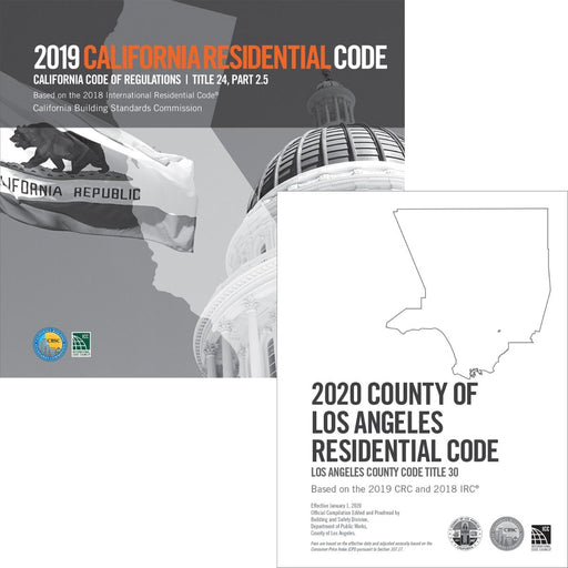 2020 County of Los Angeles Residential Code - Complete Code
