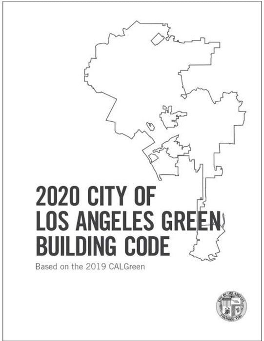 2020 City of Los Angeles Green Building Standards Code, Amendments only