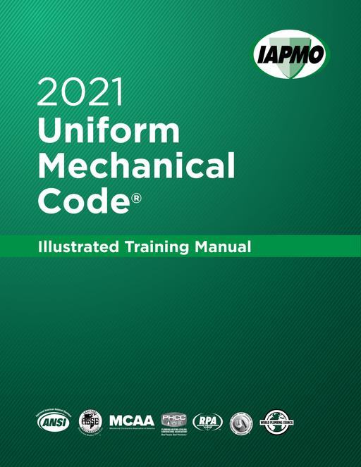 2021 Uniform Mechanical Code Illustrated Training Manual