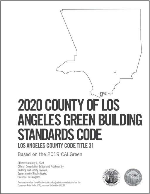 2020 County of Los Angeles Green Building Code - Amendments only
