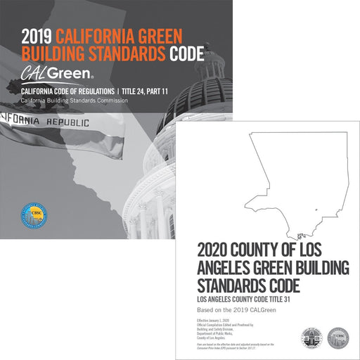 2020 County of Los Angeles Green Building Standards Code Complete Code