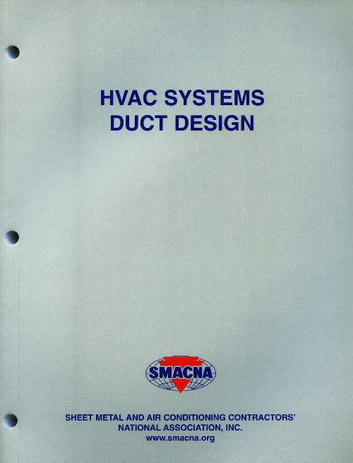 SMACNA HVAC Systems Duct Design Manual