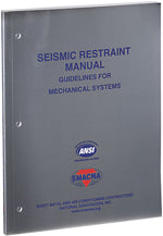 SMACNA Seismic Restraint Manual 3rd