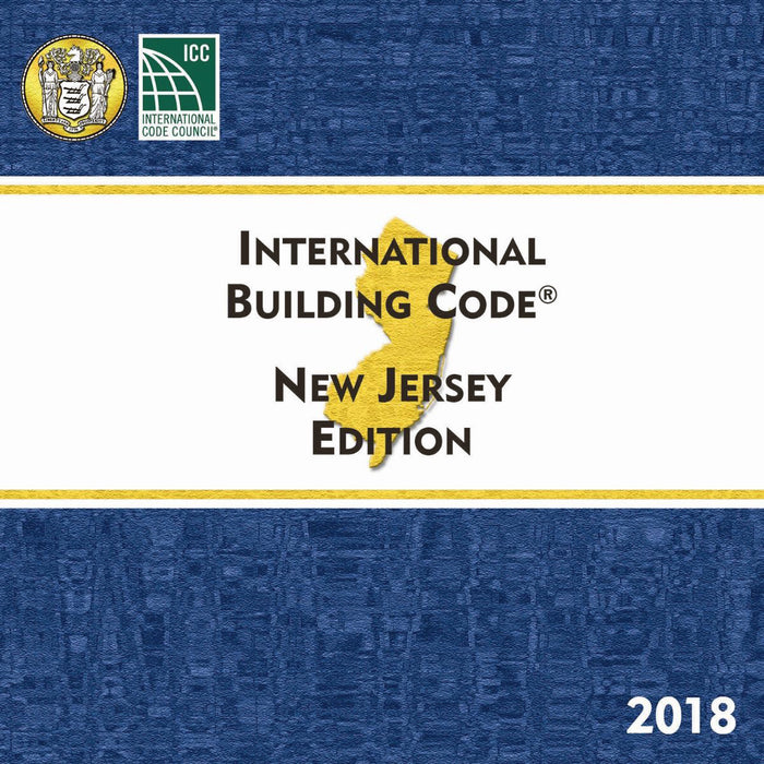 2018 New Jersey Building Code, Loose Leaf
