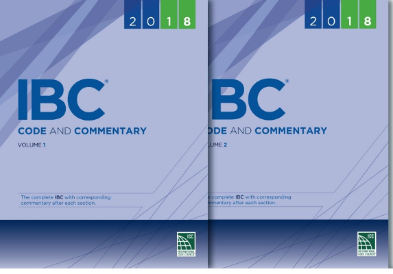 2018 IBC Code and Commentary Complete Set