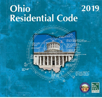2019 Ohio Residential Code, Loose Leaf