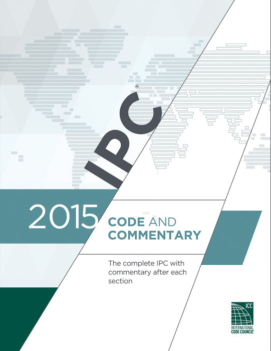 2015 IPC International Plumbing Code and Commentary