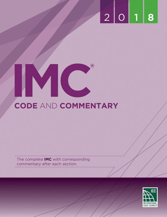 2018 IMC International Mechanical Code and Commentary