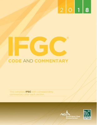2018 IFGC International Fuel Gas Code and Commentary, Softcover