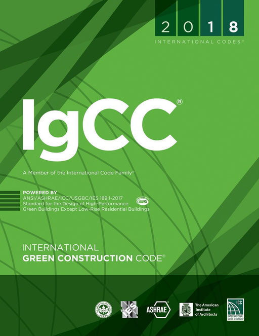 2018 ICC International Green Construction Code (IGCC), Softcover