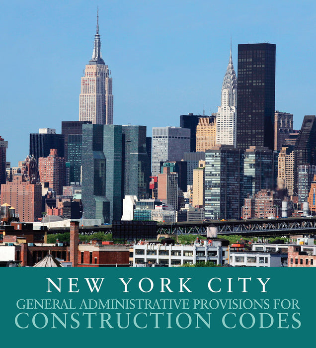 2014 NY City General Admin Provisions for Constr
