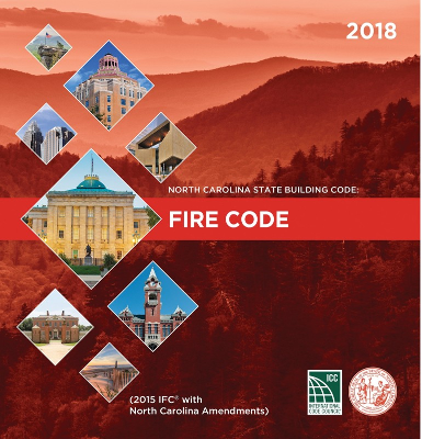 North Carolina State Building Code: Fire Prevention Code 2018