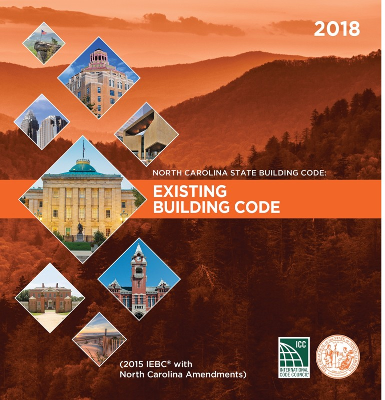 North Carolina State Building Code: Existing Building Code 2018
