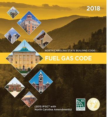 North Carolina State Building Code: Fuel Gas Code 2018