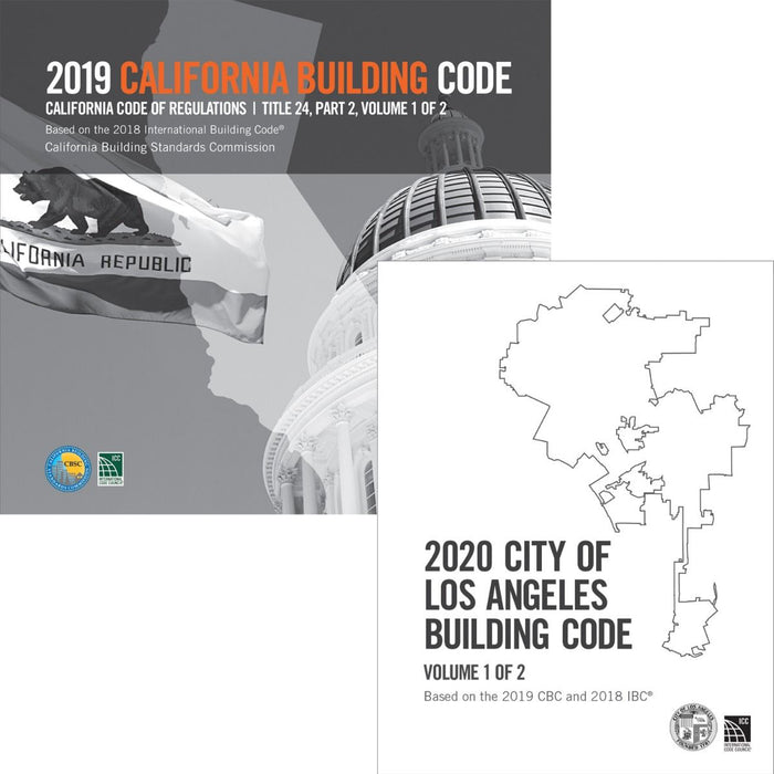 2020 City of Los Angeles Building Code (2 Volumes) - Complete Code