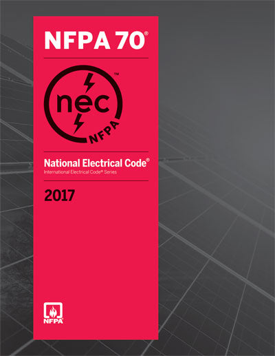 2017 NEC - National Electrical Code, Softcover