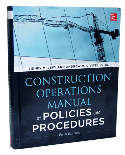 Construction Operations Manual of  Policies 5th