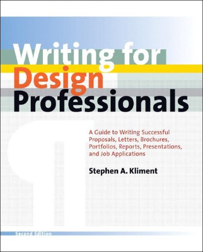 Writing for Design Professionals, Second Edition