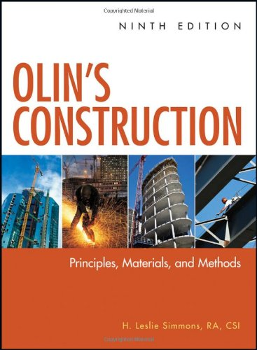 Olin's Construction: Principles, Materials, and Methods, Ninth Edition