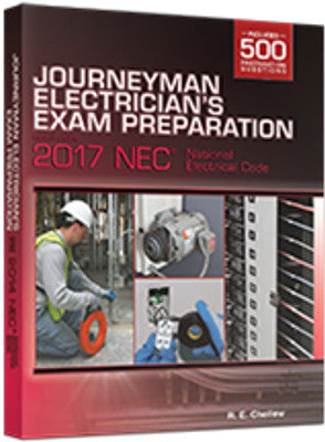 Journeyman Electrician's Exam Prep DVD 2017 NEC