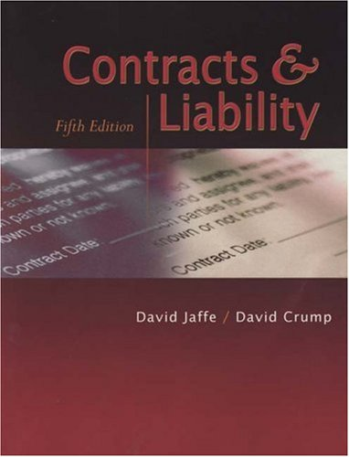Contracts & Liability, Fifth Edition
