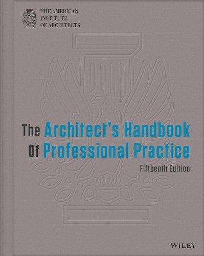 Architect's Handbook of Professional Practice, 15th Edition
