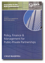 Policy, Finance, and Management for Public-Private Partnerships