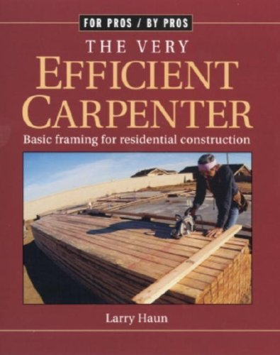 For Pros By Pros: The Very Efficient Carpenter