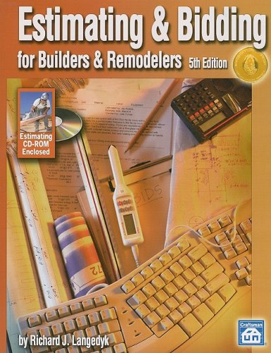 Estimating and Bidding for Builders and Remodelers, Fifth Edition