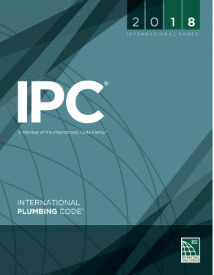 2018 ICC International Plumbing Code IPC SC