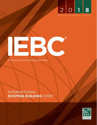 2018 ICC International Existing Building Code IEBC SC